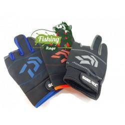 Неопренови ръкавици Daiwa сиви/сини/червен