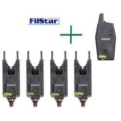 Комплект сигнализатори FilStar 4+1  FSBA-22