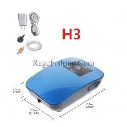 Помпа за Жива Стръв с Зарядна батерия H3